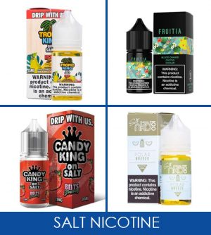 Salt Nicotine E-liquid